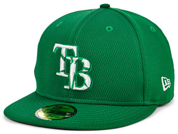 Tampa Bay Rays 2020 Men's St. Pattys Day Fitted Cap New Era