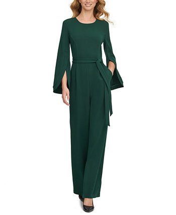 Cape-Sleeve Jumpsuit Calvin Klein