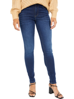 Mia High-Rise Toothpick Skinny Wide Waistband in Daring KUT from the Kloth