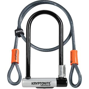 Kryptonite KryptoLok STD Double Deadbolt U-Lock + 120cm Cable Kryptonite