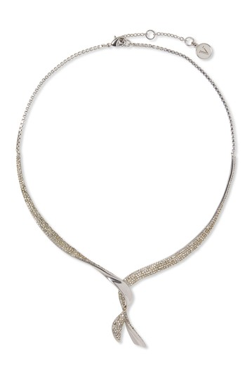 Pave Crystal Twisted Collar Necklace Vince Camuto