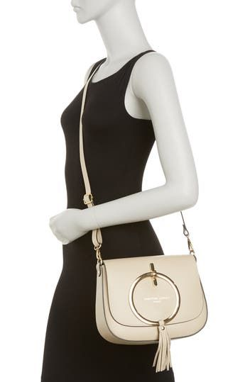 Audrey Small Leather Crossbody CHRISTIAN LAURIER
