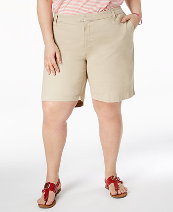 Plus Size Chino Shorts Tommy Hilfiger