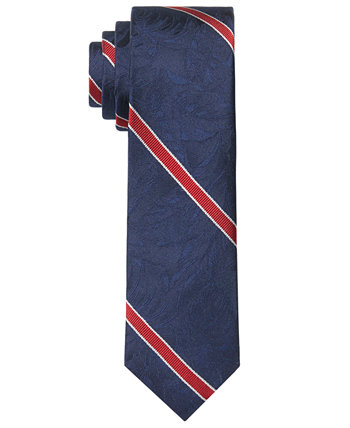 Men's Slim Palm Jacquard Stripe Tie Tommy Hilfiger