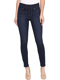 Sienna Pull-On Ankle in Silky Soft Denim in Griffith Super Dark Liverpool