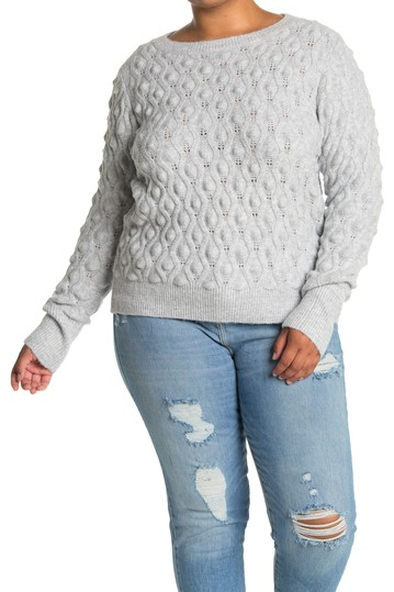 Popcorn Pullover Sweater (Plus Size) Sweet Romeo