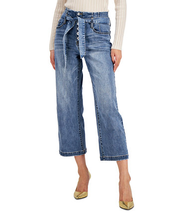 INC Corset-Seam Cropped Jeans, Created for Macy's INC International Concepts