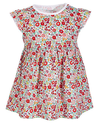 Baby Girls Garden Floral Cotton Tunic, Created for Macy's First Impressions