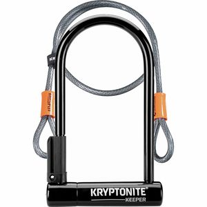 Kryptonite New-U Keeper STD with 4' Flex Cable Kryptonite