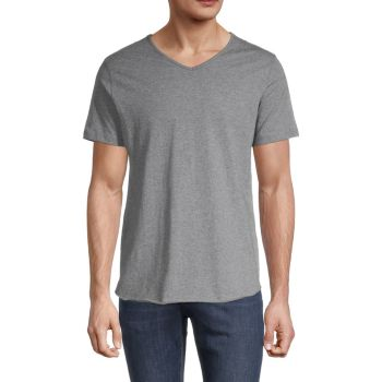 V-Neck T-Shirt Unsimply Stitched