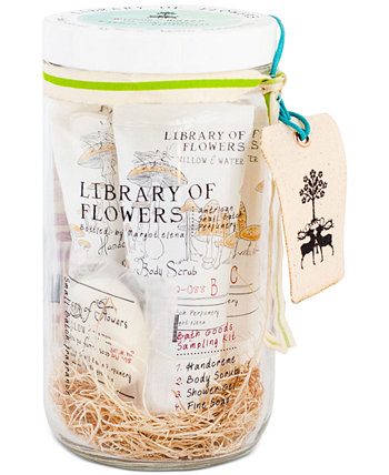 5-Pc. Willow & Water Bath Goods Set Library of Flowers