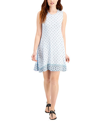 Printed Mini Dress, Created for Macy's Style & Co