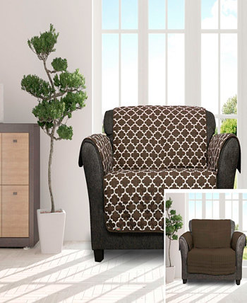 """Coby 92"""" x 75"""" Reversible Water Resistant Loveseat Cover Duck River Textile"""
