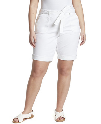 Women's Plus Self Bleed Bermuda Short Gloria Vanderbilt