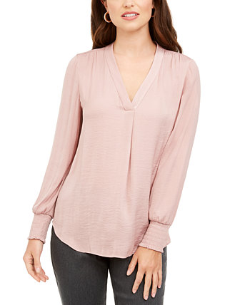 V-Neck Top, Created for Macy's Alfani
