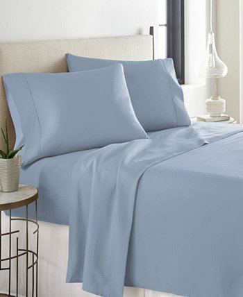Heavy Weight Cotton Flannel Sheet Set Pointehaven
