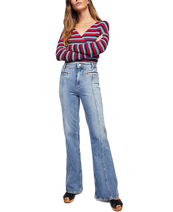 Firecracker Flare Jeans Free People