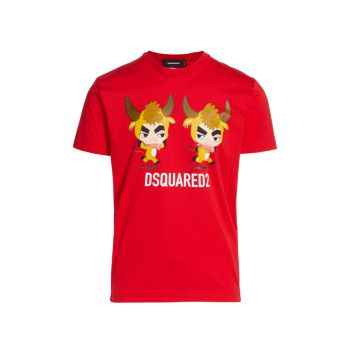 Футболка Cool Fit Year Of The Ox DSQUARED2