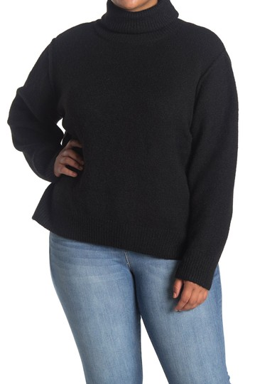 Turtleneck Pullover Sweater (Plus Size) Max Studio