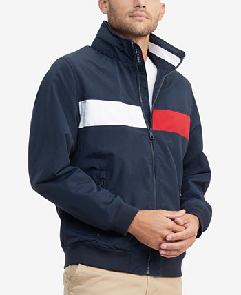 Men's Creek Pieced Colorblocked Yacht Jacket with Zip-Out Hood Tommy Hilfiger