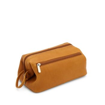 Leather Toiletry Bag ROYCE New York