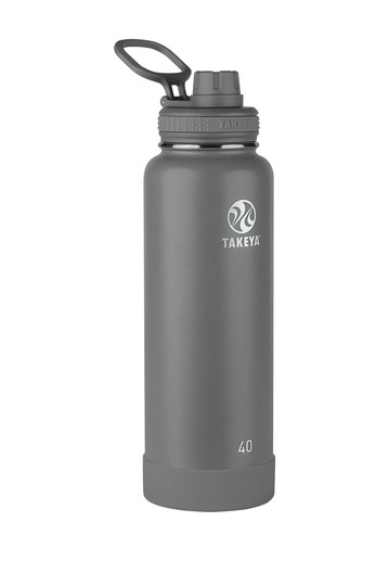 Actives 40 oz. Spout Bottle - Graphite Takeya