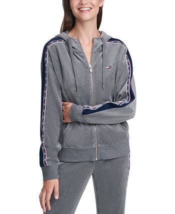 Zip-Front Hooded Top Tommy Hilfiger