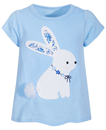 Toddler Girls Bunny Cotton Top, Created for Macy's First Impressions