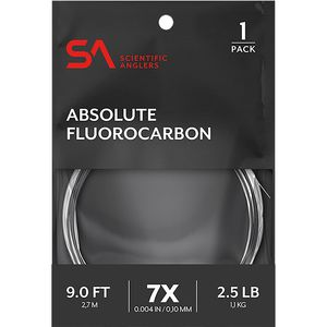 Scientific Anglers Absolute Fluorocarbon 9-Foot Leader Scientific Anglers