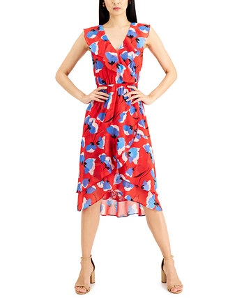 INC Printed High-Low Dress, Created for Macy's INC International Concepts