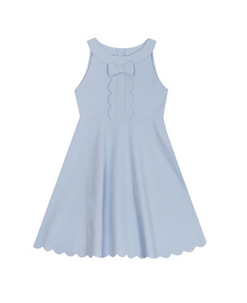 Toddler Girls Scuba Skater with Scallop Hem Rare Editions
