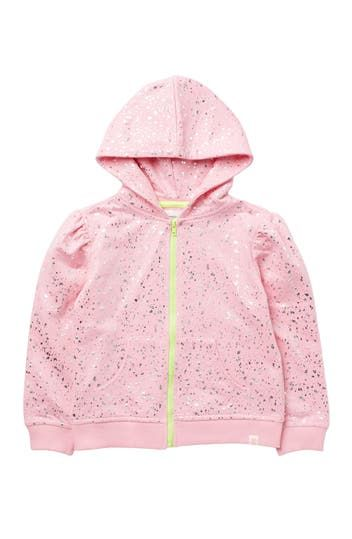 Legacy Foil Zip Jacket (Little Girls) Sovereign Code