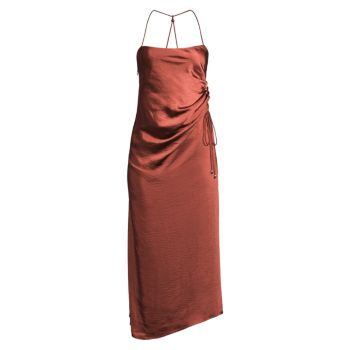 Aura Ruched-Side Dress SIGNIFICANT OTHER