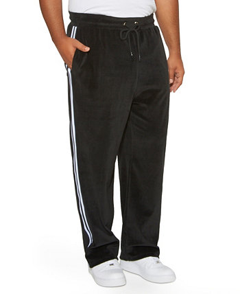 Mvp Collections Men's Big and Tall Velour Track Pant Mvp Collections By Mo Vaughn Productions