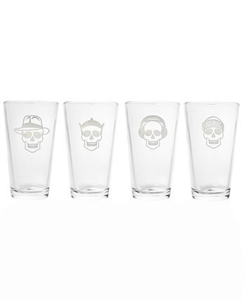 Numbskulls Pint 16Oz - Set Of 4 Glasses Rolf Glass