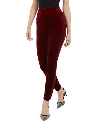 I.N.C. International Concepts Petite Velvet Pull-On Skinny Pants, Created for Macy's INC International Concepts