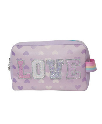 Love Heart Printed Pouch OMG! Accessories