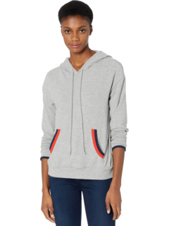 Cody Madison Brushed Jersey Hoodie w/ Contrast Double Binding Michael Stars