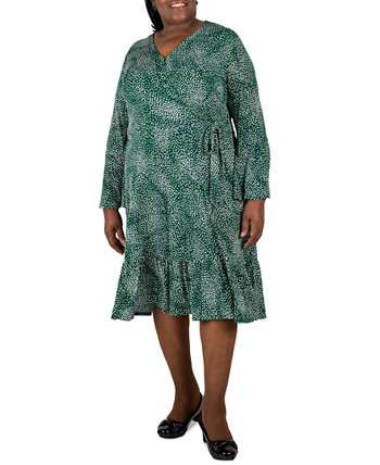Plus Size Printed Dress Robbie Bee