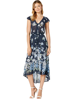 Floral Printed Felice Dress Lucky Brand