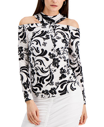 INC Twisted Cold-Shoulder Top, Created for Macy's INC International Concepts