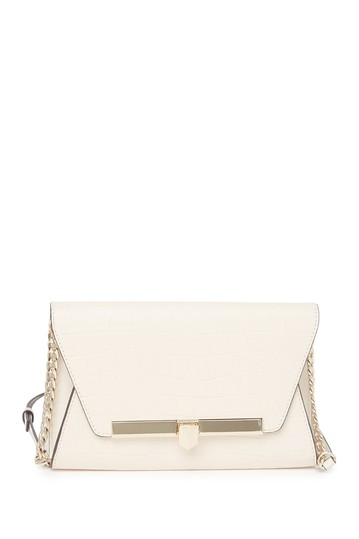 Medium Leather Clutch Crossbody Michael Kors