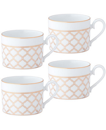 Eternal Palace Gold Set of 4 CUPS, 8-1/2 OZ Noritake