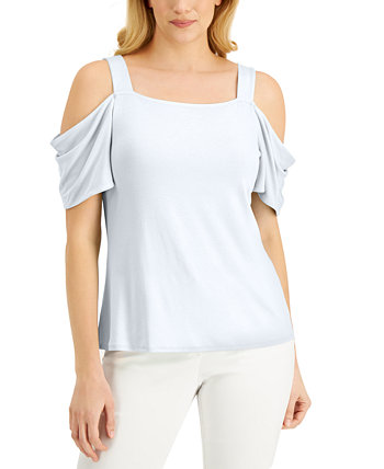 Cold-Shoulder Top, Created for Macy's J&M Collection