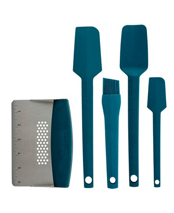 5 Piece Silicone and Stainless Steel Kitchen Utensil Bundle Taste of Home