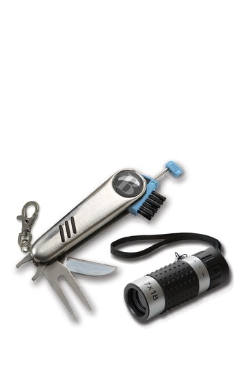 Golfer's Multi-Tool and Distance Finder Set BROOKSTONE