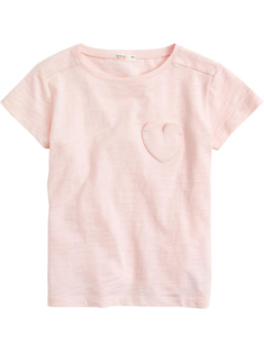 Heart Pocket Tee (Toddler/Little Kids/Big Kids) J.Crew