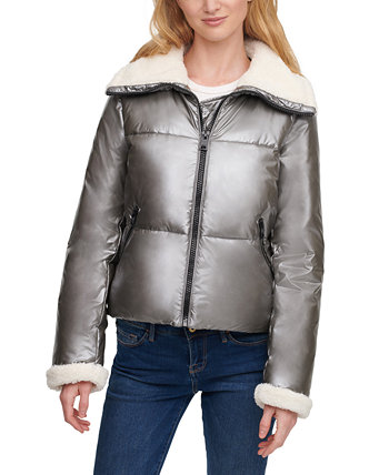 Faux-Sherpa-Lined Puffer Jacket Levi's®