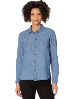 Classic Chambray Shirt in Ovington Wash Madewell