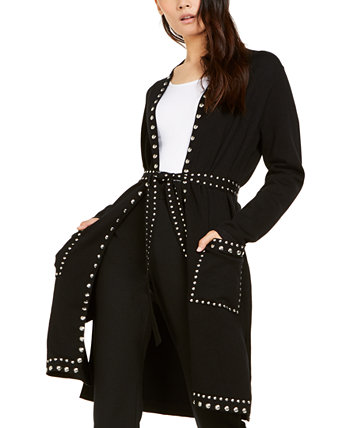 I.N.C. International Concepts Petite Studded Completer Cardigan Sweater, Created for Macy's INC International Concepts
